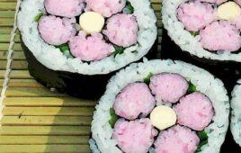 ☺飾り巻き寿司教室を開催しました☺